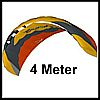 4.0 Meter Beamer 4 power kite from HQ