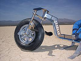 Buggy Front Fork on the Ivanpah Dry Lake Bed