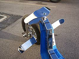 Kite Buggy front fork shine