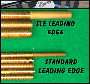 Standard and SLE leading edge