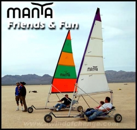 Manta - Windjammer and Twinjammer Landsailer
