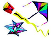 Single Line Kites, Childrens Kites, easy flying kites