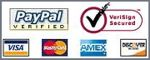 We Accept Visa, Master Card, Discover, American Express and Paypal